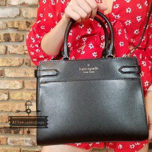 Kate Spade STACI MEDIUM Satchel Soft LEATHER BAG